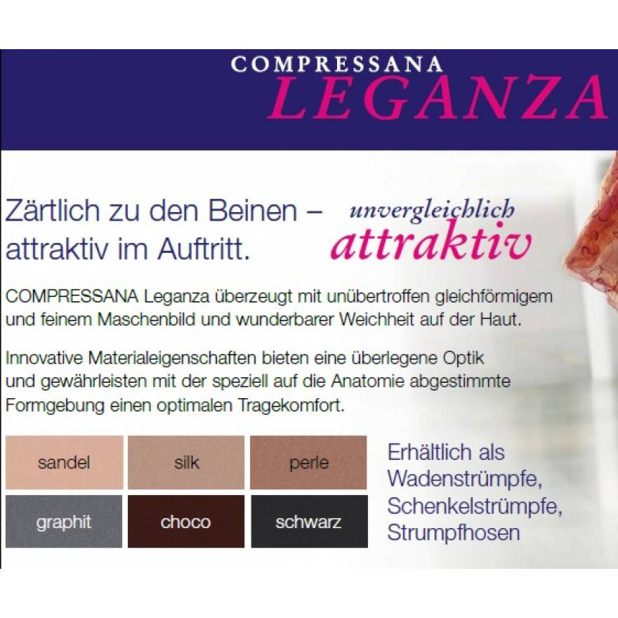 Compressana LEGANZA Kompressionsstrumpfhose AT